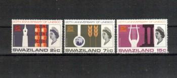 Swaziland Michelnummer 123 - 125 postfrisch