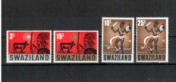 Swaziland Michelnummer 134 - 137 postfrisch