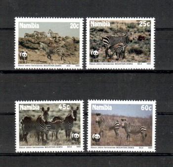 Namibia Michelnummer 702 - 705 postfrisch
