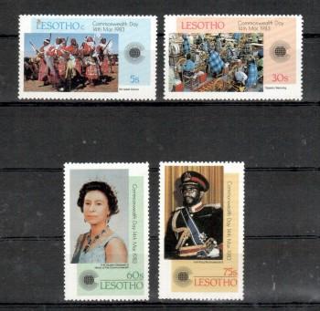 Lesotho Michelnummer 415 - 418 postfrisch