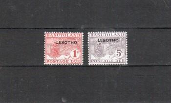 Lesotho Porto Michelnummer 1 - 2 postfrisch