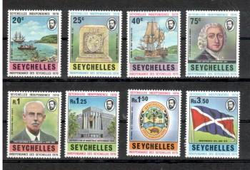 Seychellen 348 - 355 postfrisch
