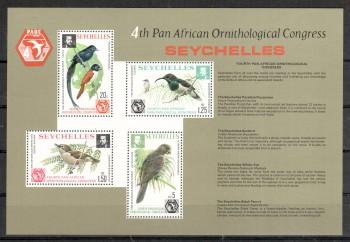 Seychellen 362 - 365 Block 6 postfrisch