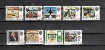 Seychellen 366 - 374 postfrisch