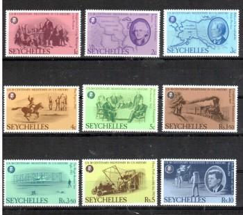 Seychellen 375 - 383 postfrisch