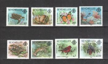 Seychellen 395 - 402 II postfrisch jetzt:Jahreszahl 1979