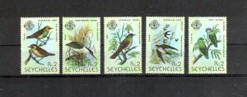 Seychellen 430 - 434 einzeln postfrisch