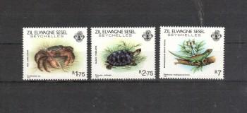 Aeussere Seychellen 43 - 45 postfrisch