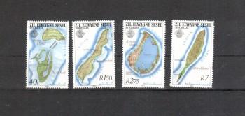 Aeussere Seychellen 46 - 49 postfrisch