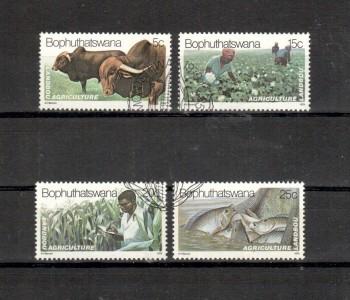 Bophutstawana Michelnummer 51 - 54 gestempelt