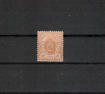 Luxemburg Michelnummer 35 postfrisch