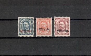 Luxemburg Michelnummer 89 - 91 postfrisch Falz