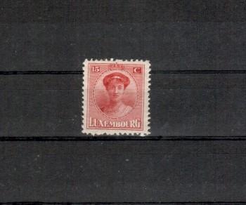 Luxemburg Michelnummer 121 postfrisch Falz