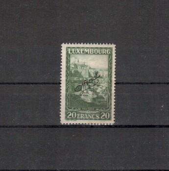 Luxemburg Michelnummer Dienst 174 postfrisch Falz