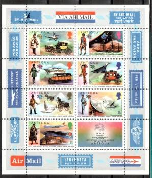 UPU015 Antigua Michelnummer Block 13 postfrisch