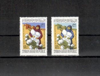 Syrien Michelnummer 1029 - 1030 postfrisch