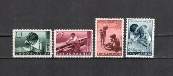 Jugoslawien Michelnummer 375 - 378 postfrisch