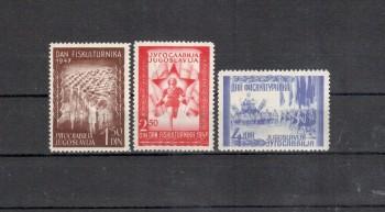 Jugoslawien Michelnummer 521 - 523 postfrisch