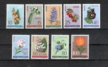 Jugoslawien Michelnummer 943 - 951 postfrisch