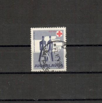 Jugoslawien Michelnummer Zwangszuschlag 22 gestempelt