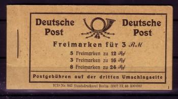 Allierte Besetzung Michelnummer MH 50 postfrisch
