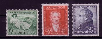 AM - Post Michelnummer 108 - 110 postfrisch