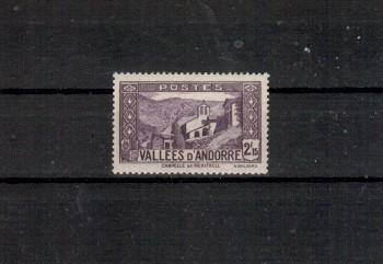 Andorra,frz. Michelnummer 72 postfrisch