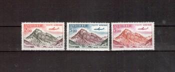 Andorra,frz. Michelnummer 175 - 177 postfrisch