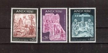 Andorra,frz. Michelnummer 204 - 206 postfrisch