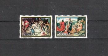 Andorra,span. Michelnummer 99 - 100 postfrisch