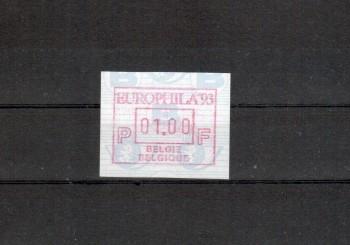 Belgien Michelnummer ATM 29 postfrisch