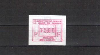 Belgien Michelnummer ATM 35 postfrisch