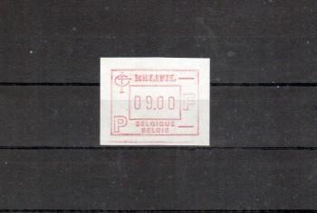 Belgien Michelnummer ATM 4 postfrisch