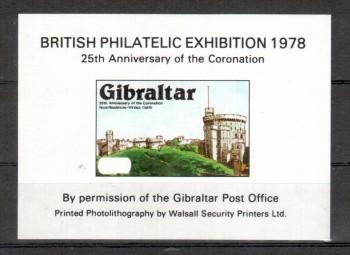 Gibraltar Michelnummer Vignette postfrisch