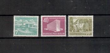 Berlin Michelnummer 121 - 123 postfrisch