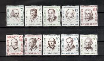 Berlin Michelnummer 163 - 172 postfrisch