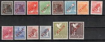 Berlin Michelnummer 21 - 34 postfrisch