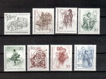 Berlin Michelnummer 330 - 337 postfrisch