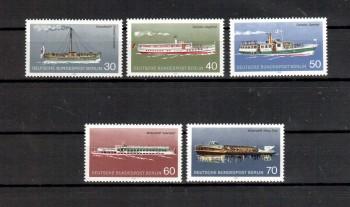Berlin Michelnummer 483 - 487 postfrisch