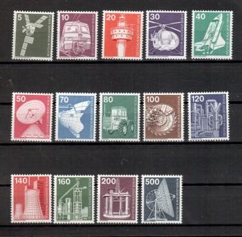 Berlin Michelnummer 494 - 507 postfrisch