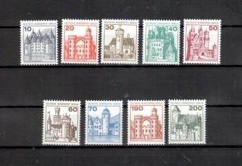Berlin Michelnummer 532 - 540 postfrisch