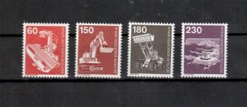 Berlin Michelnummer 582 - 586 postfrisch
