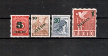 Berlin Michelnummer 64 - 67 postfrisch
