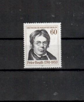 Berlin Michelnummer 654 postfrisch