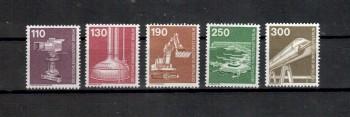 Berlin Michelnummer 668 - 672 postfrisch