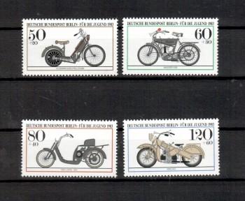 Berlin Michelnummer 694 - 697 postfrisch