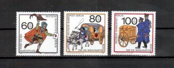 Berlin Michelnummer 852 - 854 postfrisch