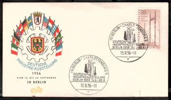 (intern:031 ) Berlin Michelnummer 157 FDC
