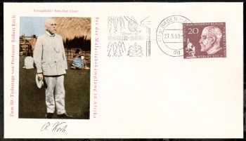 (intern:048 ) Berlin Michelnummer 191 FDC