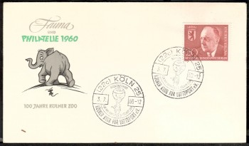 (intern:049 ) Berlin Michelnummer 192 FDC